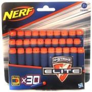 NERF N-Strike Elite: Kék lőszer utántöltő készlet - 30 db