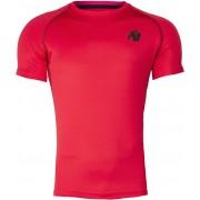 Gorilla Wear Performance T-Shirt Rood/Zwart - S
