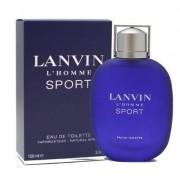 Lanvin l'homme sport eau de toilette 100 ml spray