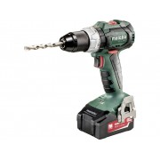 Accuschroefboormachine Metabo BS 18 LT BL incl. koffer, incl. accessoires, incl. 2 accus 18 V 4 Ah Li-ion