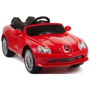 Amazing 12v Official Slr 722 Mercedes Benz Battery Operated Ride On Car With Remote Control/Functioning Lights/Music/Volume Control/Red