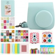 Accesoriu foto-video loveinstant Set 7in1 album + Case + cadru + Filtre Fujifilm Instax Mini 8/9 - Menta