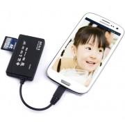 Cititor Carduri cu Mufa Micro USB pentru Samsung S2 si Galaxy Note SMCR517