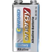 Baterie alcalina 9 V Conrad energy