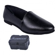 Shoebook Black Nagra Loafers