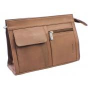 Necessär Pfeilring Single Brown Leather – utan gravyr