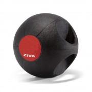 Gym Medicine Ball Con Agarre Doble Grip 3 Kg Ziva Dgmb-1503