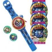 Yo-Kai Watch Montre parlante Yo-Kai Watch Modèle Zéro + 3 sachets de 2 médailles Yo-Motion