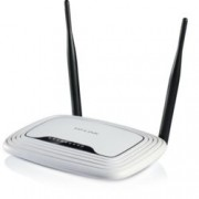 Рутер TP-Link TL-WR841N, 300Mbps, 2.4GHz(300 Mbps), Wireless N, 4x LAN 100, 1x WAN 100, 2x външни антени