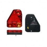 Lampa auto pentru remorca partea Stanga cu ceata si triunghi reflectorizant 174x206.5x54.5mm