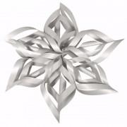 Rayher hobby materialen Kerstster knutsel set zilver