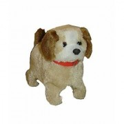 Skywalk Soft Battery Operated Back Flip Jumping Dog Toy for Kids