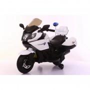 Dečiji akumulatorski motor veliki POLICE (beli)