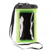 Bellatio Design Waterdicht telefoonhoesje voor alle telefoons groen