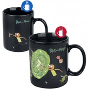 Rick And Morty Portal - Heat Change Mug Mok meerkleurig
