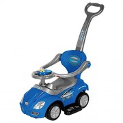 Best Ride On Cars 3 In 1 Push Car Kids Riding, Blue