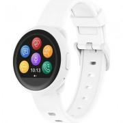 Смарт часовник MyKronoz ZeRound3 Lite, кръгла форма, бял