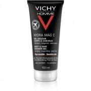 Vichy Homme Hydra-Mag C Duschgel Für Körper und Haar 100 ml