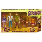Set 5 Figurine 13 Cm Personaje Scooby Doo- Echipa Misterelor