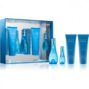 Davidoff Cool Water Woman coffret XV. Eau de Toilette 50 ml + Eau de Toilette 15 ml + leite corporal 75 ml + gel de duche 75 ml