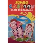 Jumbo Cartoon 1 - Carte de colorat