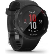 Sportski sat Garmin Forerunner 45S, GPS, za trčanje, senzor pulsa na zapešću, crni