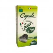 Capsule La Genovese Espresso BIO compatibile Nespresso cutie 10 buc