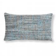 Kave Home Capa de almofada Boho 30 x 50 cm azul
