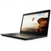 Лаптоп Lenovo ThinkPad Edge E570, 15.6 HD (1366x768) Anti-glare, Intel Core i5-7200U(2.5GHz up to 3.1GHz,3MB), 8GB DDR4, 1TB HDD+128GB SSD, 20H6S1QQ00