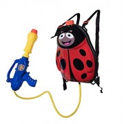 Water Gun Backpack Lady Bug Super Soaker For Kids Toys - Summer Fun Outdoor Water Toy For Children Beach Pool Backyard Water Blaster ...