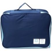 Lifestyle-You Waterproof Travel Bag for Shoes & Socks. Foldable Portable Shoe Bag Organiser.(Blue)
