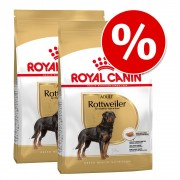 Pachet economic: 2 x pachete Royal Canin Breed - Miniature Schnauzer Adult (2 x 3 kg)