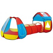 Toys Bhoomi Tent House for Kids Big Size Portable Children's Tunnel Play Tents Home - 100% Safe Polyester Fabric