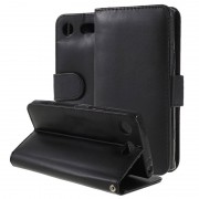 Bolsa tipo Carteira Premium para Sony Xperia XZ1 Compact - Preto