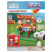 Lite Brix The Peanuts Movie Lemonade Stand Building Set