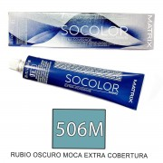 Matrix Socolor EXT-COV 506M RUBIO OSCURO MOCA 90ml