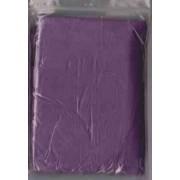 Adult Purple Disposable Ponchos