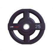Crossmaxx Olympic PU Disc 25 kg diameter 50 mm