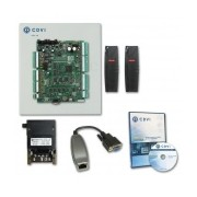 CDVI Kit Control de Acceso para 2 Puertas, 1x RJ-45, 1x RS-232