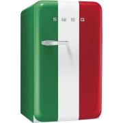 SMEG FAB10HRIT szabadonálló egyajtós hűtőszekrény - minibar - olasz zászlós - jobbos