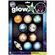 Stickere 3D - Planete The Original Glowstars Company B8101 B39015901