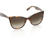 Dolce & Gabanna Cat-eye Sunglasses(Brown)