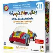Игрален комплект Меджик нудълс - 400-490 броя, 3D Кола, 870020