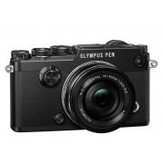 Olympus PEN-F + 14-42mm F/3.5-5.6 ED EZ M.ZUIKO - Nero - 2 Anni Di Garanzia