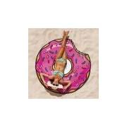 Merkloos Donut picknickkleed handdoek 150 cm