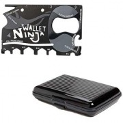 Right Traders 18 In 1 Tool Card Ninja Wallet 18 Multi-utility Knife with credit card Holder ( pack of 2 )