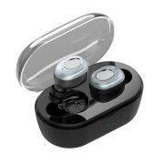 [Truly Wireless] Invisible Dual Bluetooth Earphone Stereo IPX5 Waterproof Sports With Charging Case