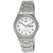 Casio Enticer Analog White Dial Mens Watch - Mtp-1240D-7Bdf (A208)