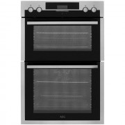 AEG DES431010M Built In Double Oven - Stainless Steel - A/A Rated