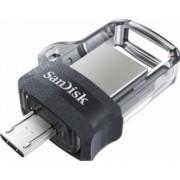 USB Flash Dual Drive Sandisk Ultra M3.0 128GB USB 3.0-Micro-USB